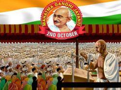 October Gandhi Jayanti Bhashan
