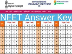 Neet Answer Key 2020 How To Check Neet 2020 Answer Key From Ntaneet Nic In