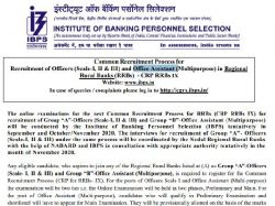Ibps Crp Rrb Recruitment 2020 Notification Apply For 9638 Vacancies Till November