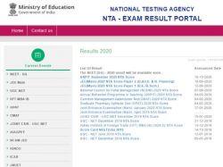 Neet Result 2020 Website