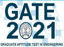 Gate 2021 Application Correction Window Open Till November