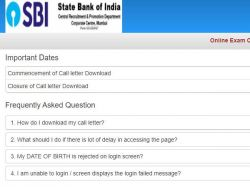 Sbi Cbo Admit Card 2020 Download