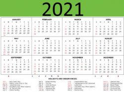 Calendar In Hindi
