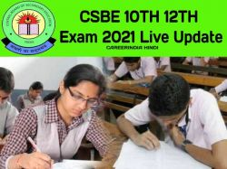 Cbse Date Sheet 2021 Live Updates