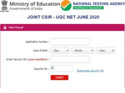 Csir Ugc Net June 2020 Result Score Card E Certificate Final Answer Key Download