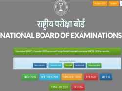 Neet Mds Admit Card Exam Result Date