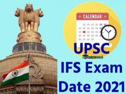 Upsc Ifs Exam Date