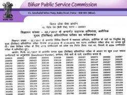 Bpsc Assistant Engineer Main Result 2021 Check Direct Link