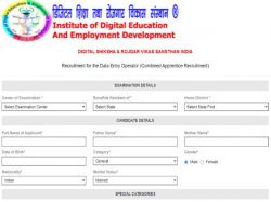Dsrvs Recruitment 2021 Apply For 433 Deo Content Writer Technician Assistant And Apprentice Posts