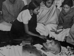 Mahatma Gandhi Death Assassination