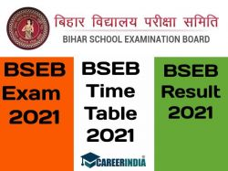 Bihar Board 10th Exam Admit Card Time Table Result Date