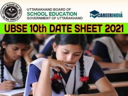 Uttarakhand Board 10th Date Sheet