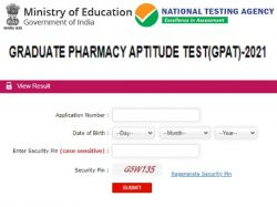 Gpat Result 2021 Declared Gpat Scorecard 2021 Download