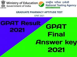 Gpat Final Answer Key 2021 Pdf Download