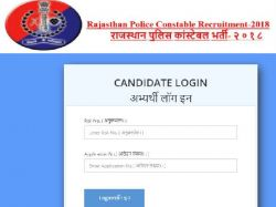 Rajasthan Police Constable Result 2021 Check Direct Link Cutoff List