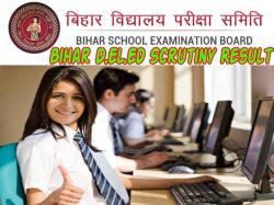 Bihar Deled Scrutiny Result 2021 Check Direct Link