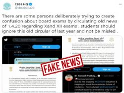 Cbse Board Exams 2021 Fact Check About 29 Main Subjects Board Warns For Fake News