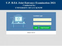 Up Bed Admit Card 2021 Download Link Lkouniv Ac In