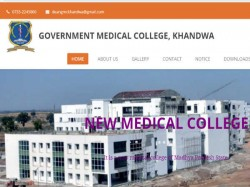Khandwa Medical College Recruitment Assistant Professor Professor Official Notification