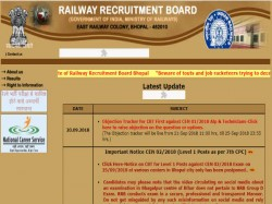 Rrb Group C Alp Technician Exam 2018 Objection Tracker To Be Released