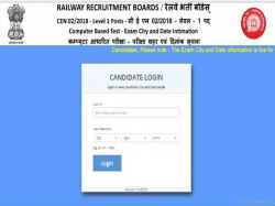 Rrb Group D 2018 Check Exam City Date Released Download Admit Card From September
