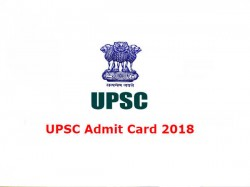 Upsc Admit Card 2018 Civil Services Mains Hall Ticket Released Know How To Download