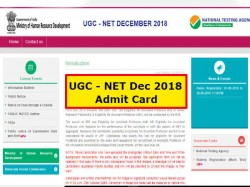 Ugc Net December 2018 Admit Card Releasing This Monday On Ntanet Nic In Know How Download