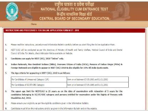Neet 2018 Exam Pattern