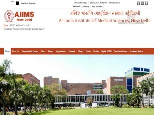 Aiims New Delhi Recruitment Nursing Officer