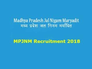 Mpjnm Recruitment 2018
