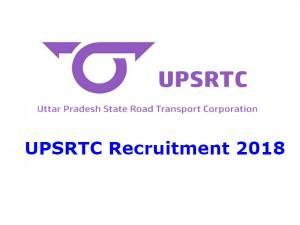 Upsrtc Recruitment 2018