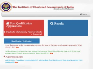 Icai Admit Card November 2018 Released Know How To Download At Icaiexam Icai Org