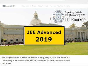 Jee Advanced 2019 Exam Date Released Check Here To Be Held On May 19 Jeeadv Ac In
