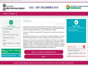 Ugc Net December 2018 Application Correction Start Apply Before Oct 14