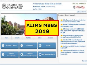 Aiims Mbbs Online Registration 2019 Apply Mbbs 2019 Aiimsexams Org