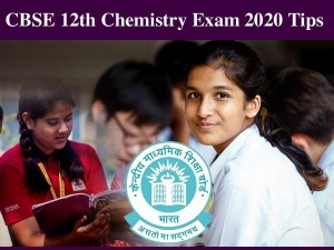Cbse Class 12th Board Exam 2020 Chemistry Expert Tips