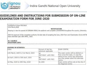 Ignou Tee June 2020 Registration Last Date Extend 30 April