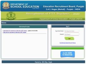 Punjab Education Board Recruitment 2020 Notification For Ett Teachers Posts