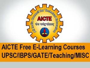 Aicte 49 Free Online Courses Registration