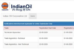 Iocl Recruitment 2020 Apply Online Last Date Extend Till June 21