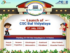 Csc Bal Vidyalaya List Of Rural India Students