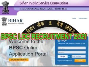 Bpsc Ldc Recruitment 2021 Apply Online