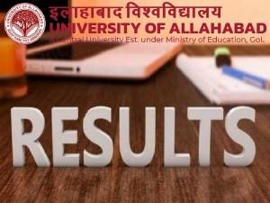 Allahabad University Result 2021 Ug Pg Professional