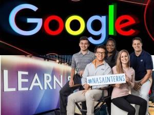 Google Amazon Nasa Internship